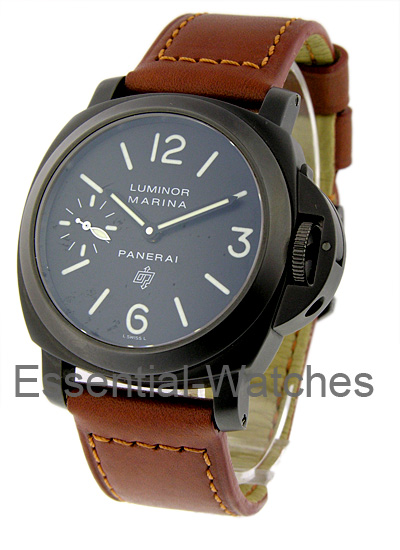 Panerai PAM 195 - Logo Marina - PVD Special Edition - Limited to Only 200 Pieces