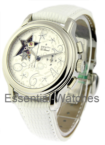 Zenith Star Sky Open in Steel