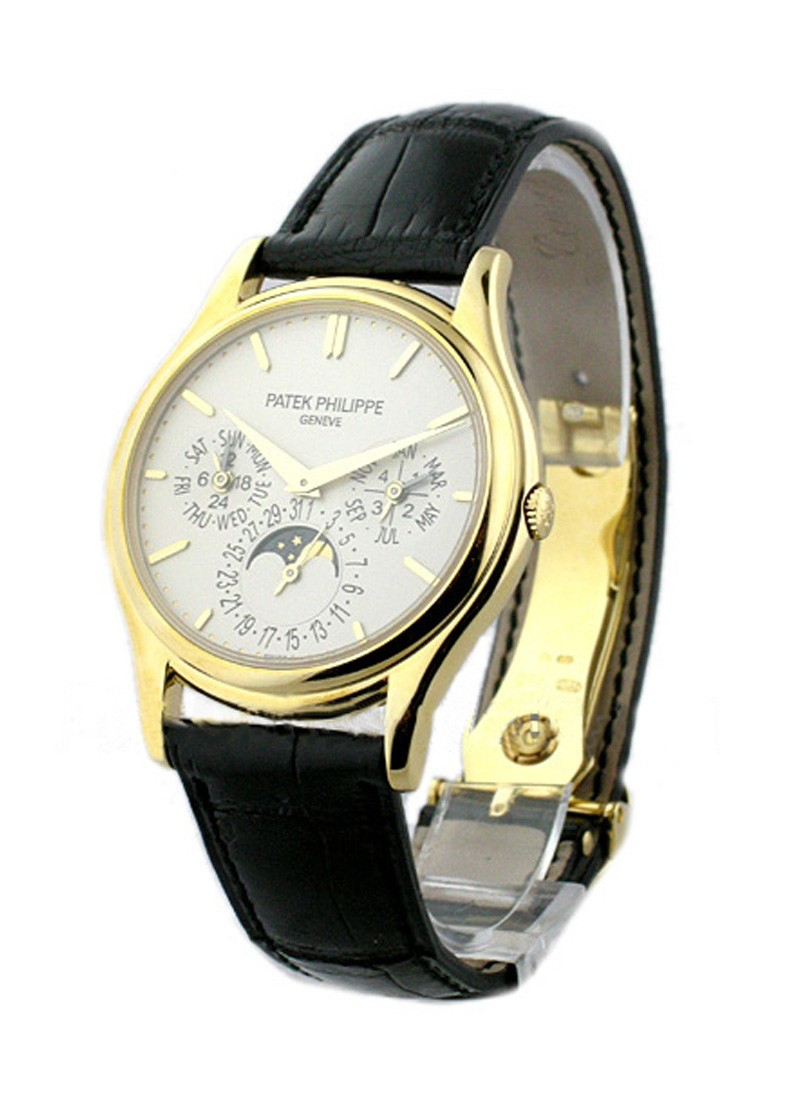 Patek Philippe Ultra Thin Perpetual Calendar Ref 5140J in Yellow Gold