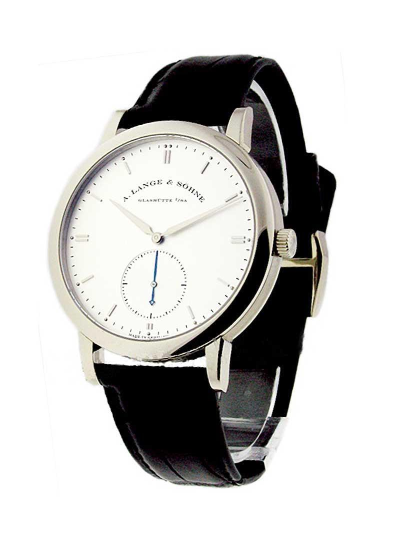 A. Lange & Sohne Saxonia Grand 40mm Automatic in White Gold