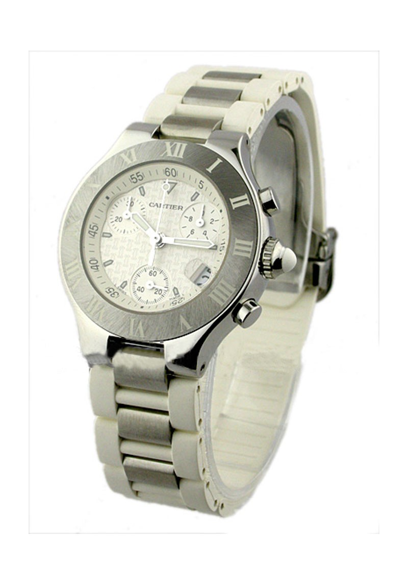 Cartier Must 21 Chronograph in Steel