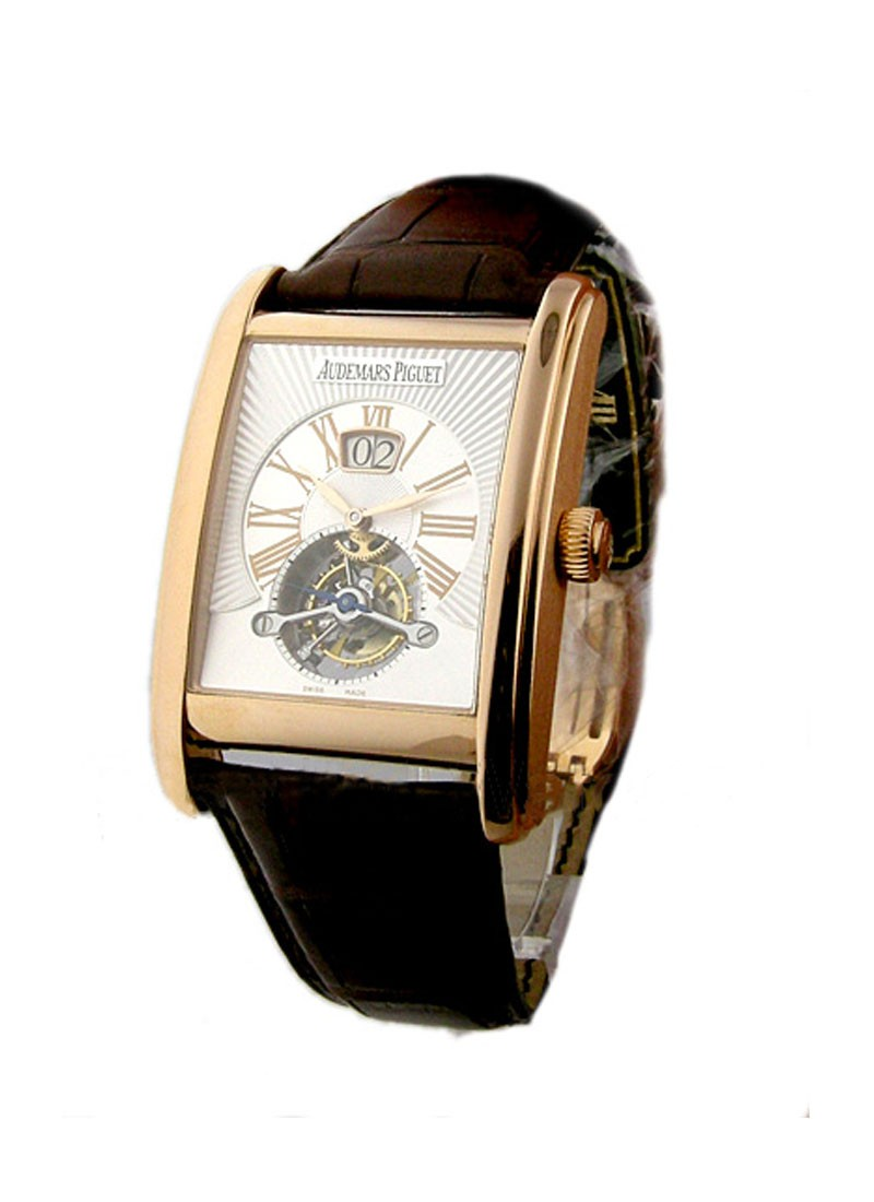 Audemars Piguet Edward Piguet Tourbillon with Big Date in Rose Gold