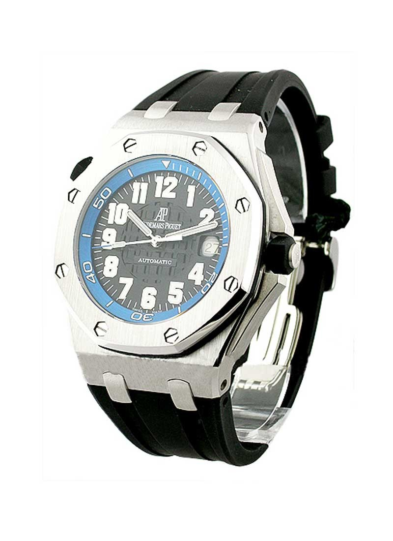 Audemars Piguet Royal Oak Offshore Blue Scuba in Stainless Steel