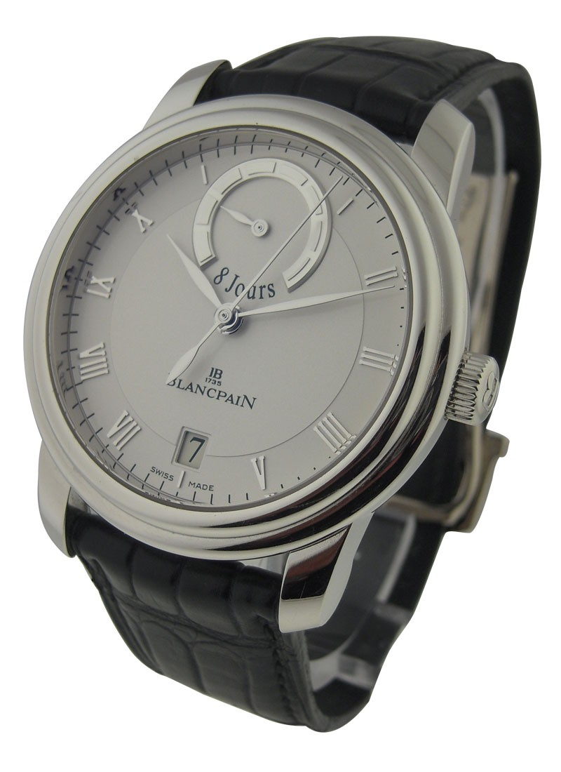 Blancpain Le Brassus 8 Jour in Platinum - Limited to 260 Pieces