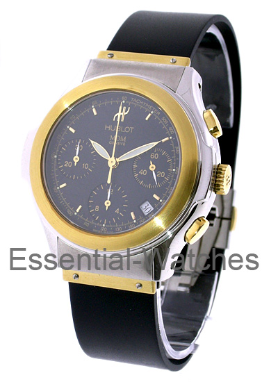 Hublot Elegant Classic MDM Chronograph in Yellow Gold