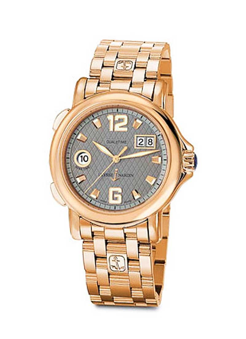 Ulysse Nardin Dual Time GMT Big Date 40mm in Rose Gold