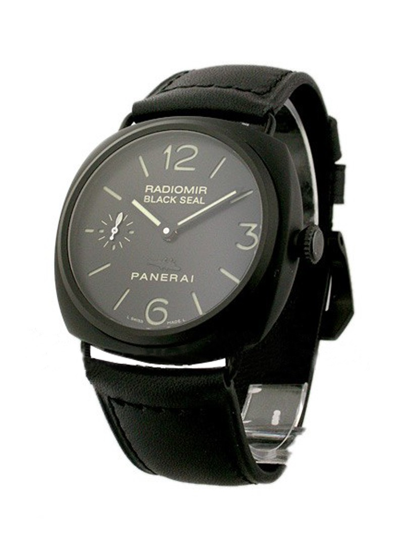Panerai PAM 292   Radiomir Ceramic in Black Ceramic PIG DIAL