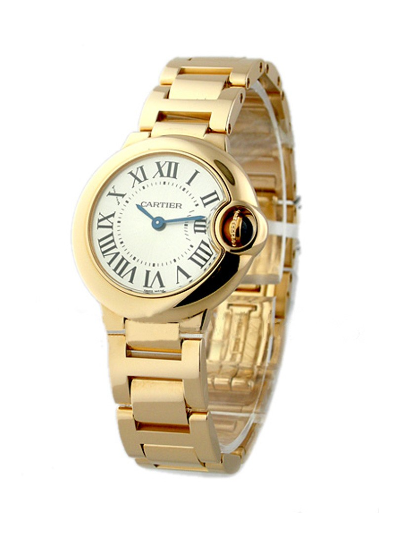 Cartier Ballon Bleu Small Size in Rose Gold