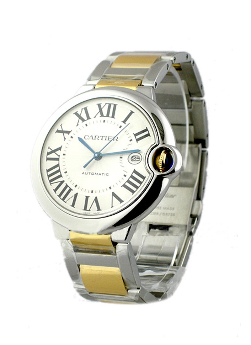 Cartier Ballon Bleu - Large Size with Steel and Yellow Gold