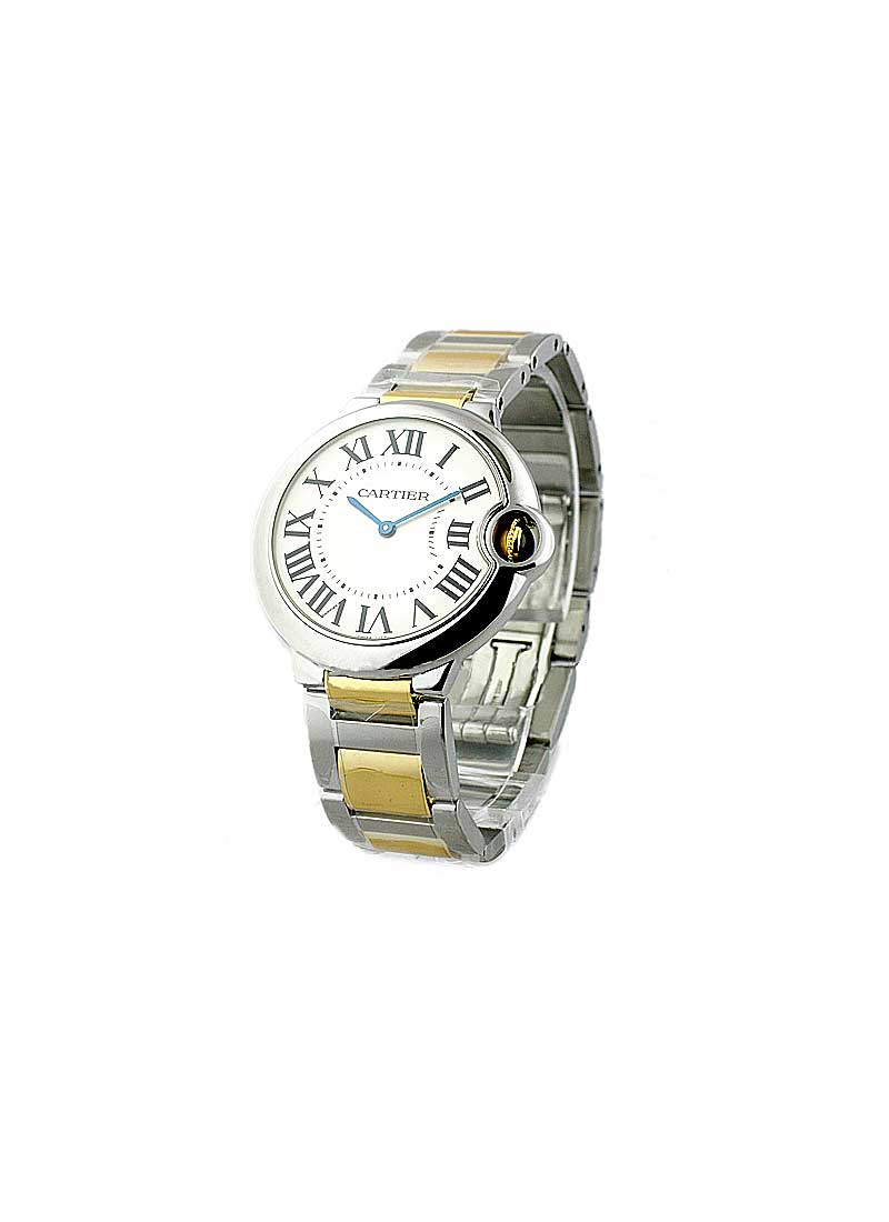 Cartier Ballon Bleu 36mm 2-Tone Steel and yellow gold