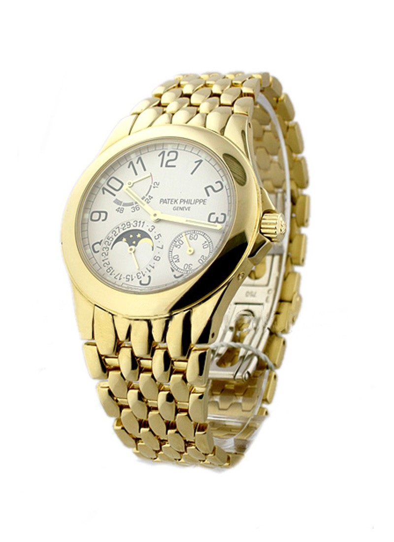 Patek Philippe 5085 Power Reserve Moon in Yellow Gold
