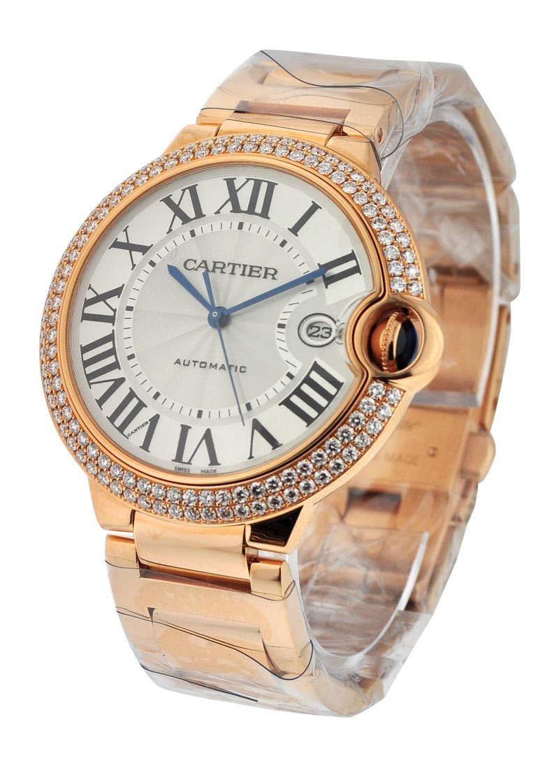 Cartier Ballon Bleu w/ Diamond Case - Large Size