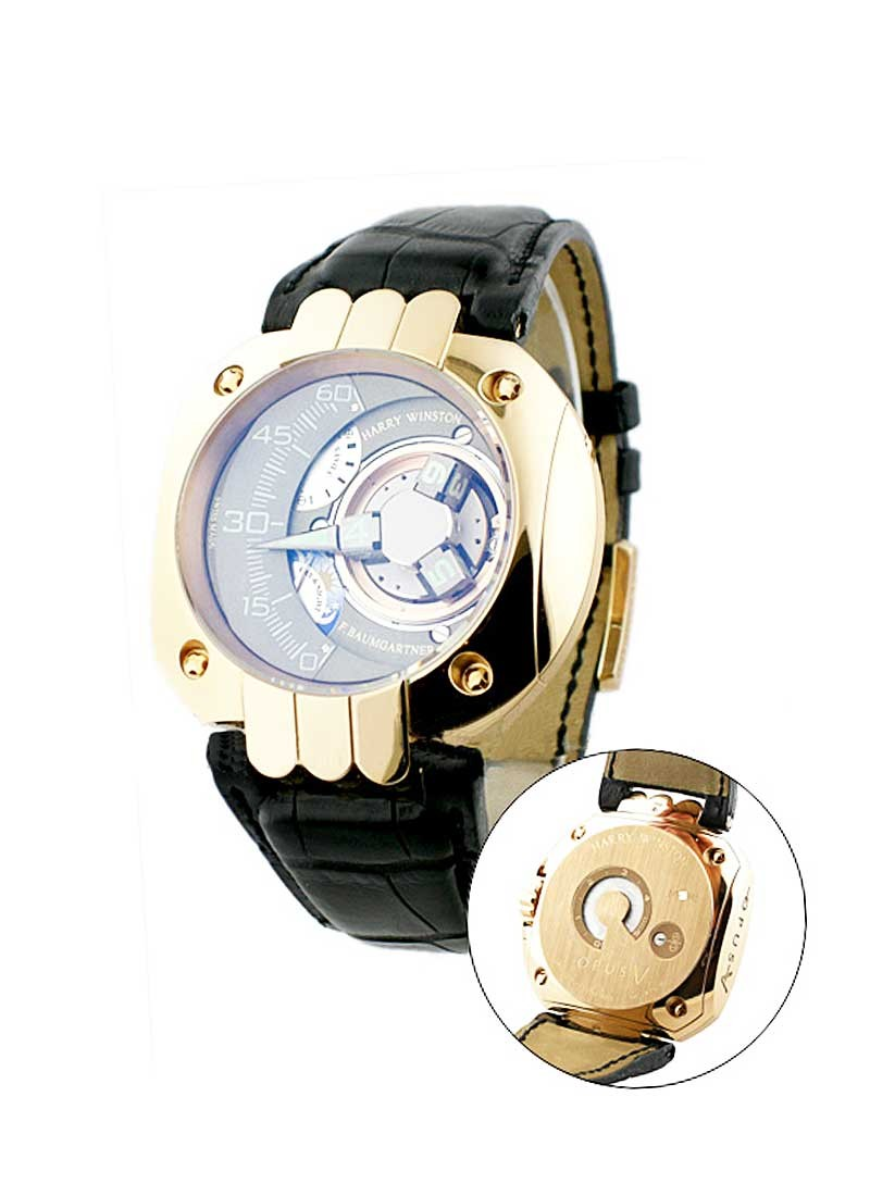 Harry Winston Opus V Rose Gold