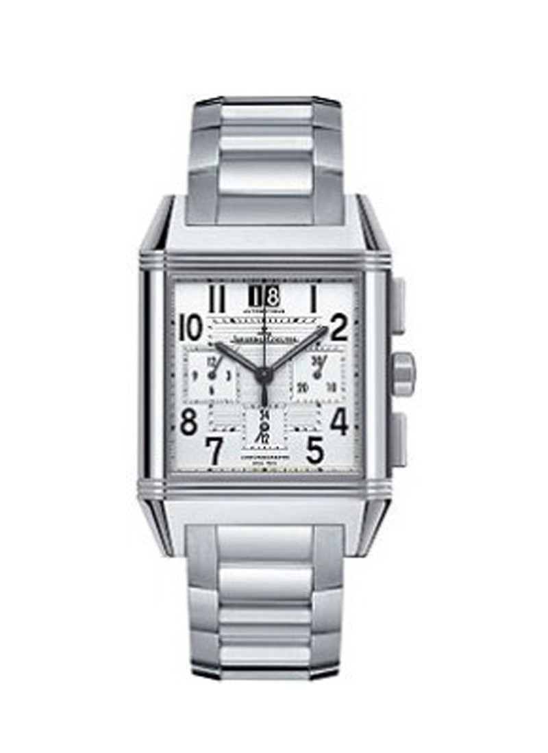 Jaeger - LeCoultre Reverso Squadra Chronograph GMT in Steel