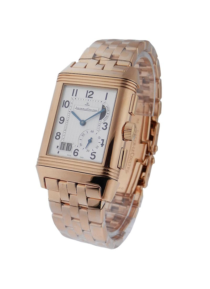 Jaeger - LeCoultre Reverso Grande GMT in Rose Gold