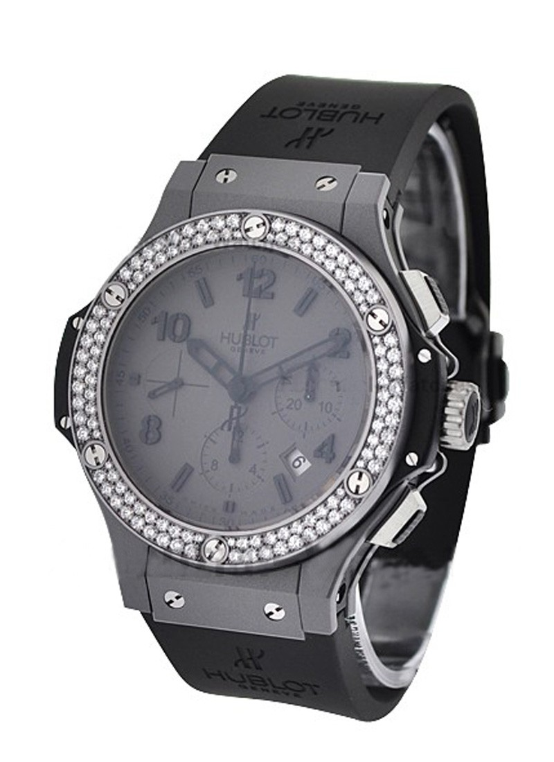 Hublot Big Bang 44mm in Tantalum Mat with 2 Row Diamond Bezel
