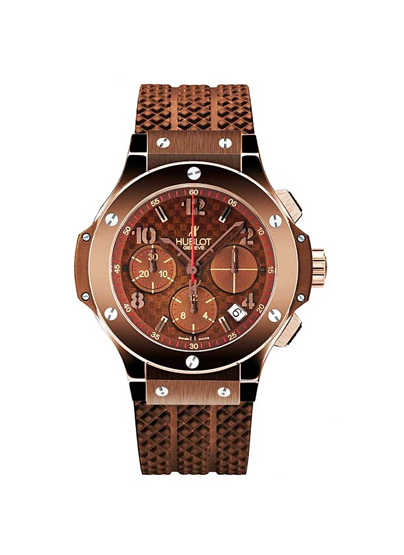 Hublot 41mm Big Bang Chocolate in PVD Steel