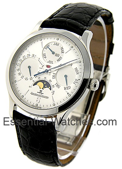 Jaeger - LeCoultre Master Perpetual 37mm in Stainless Steel