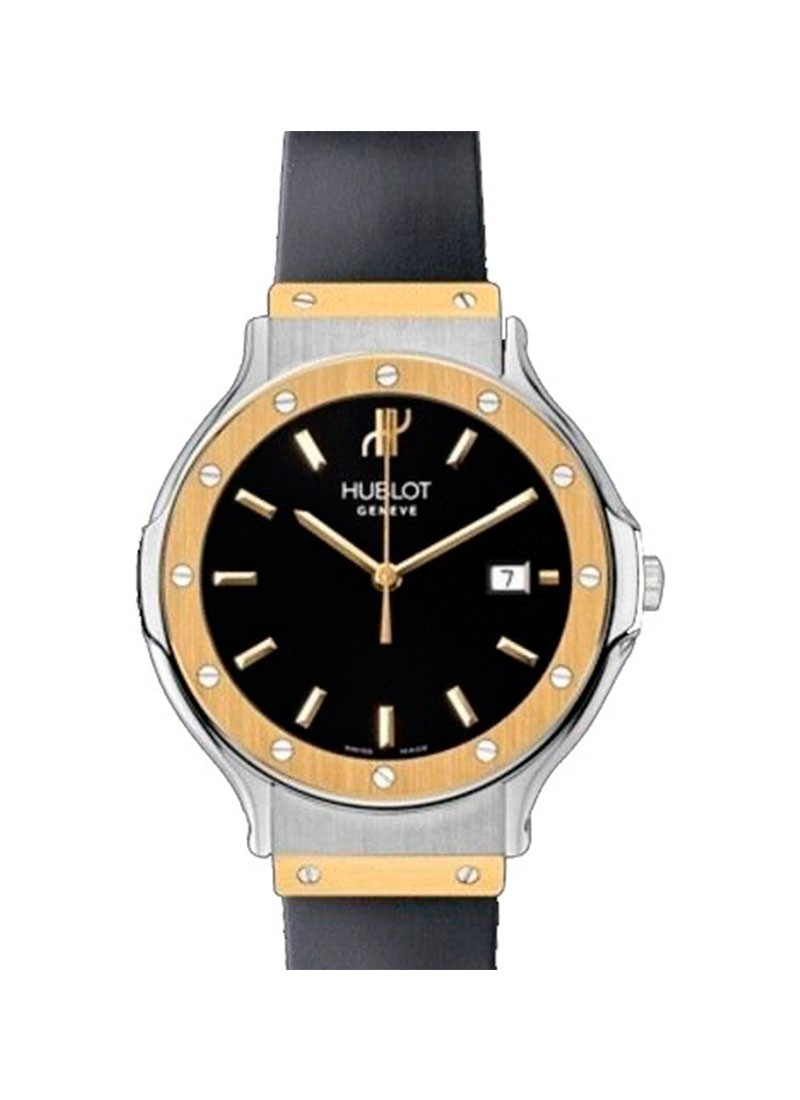Hublot Classic - Lady's Small Size in Steel with Yellow Gold Bezel