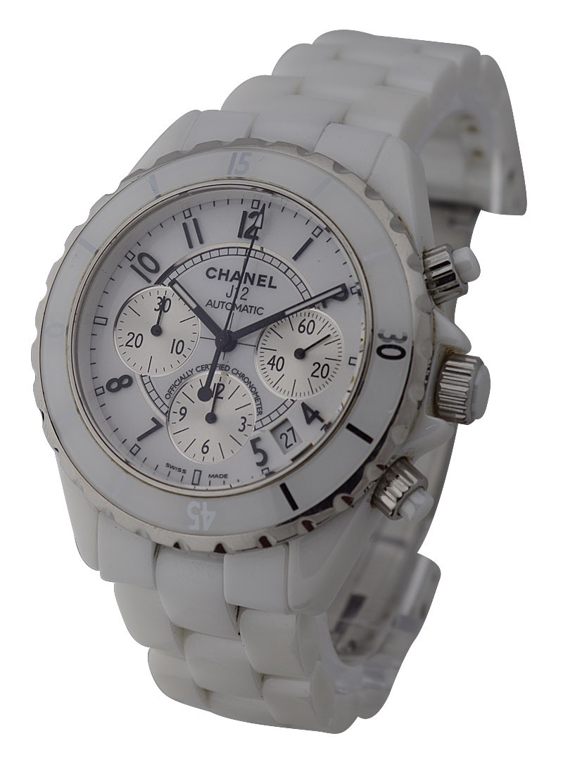 Chanel J12 - Chronograph H1007 in White Ceramic