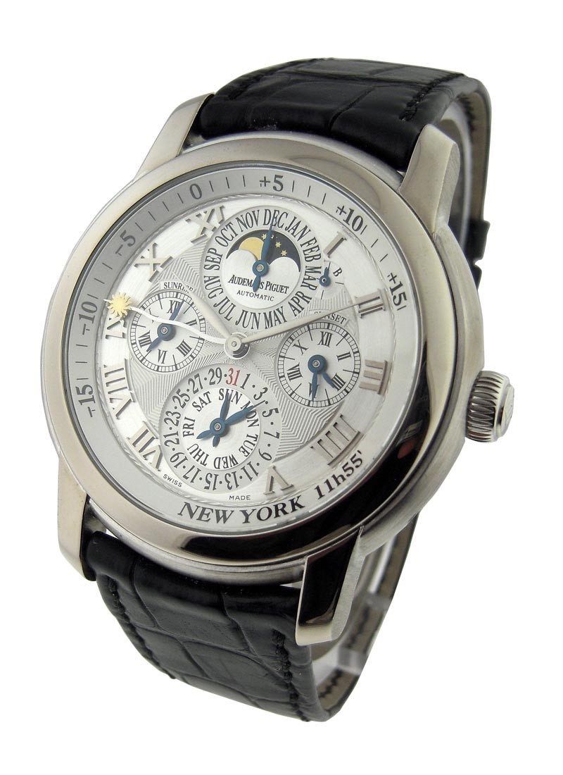 Audemars Piguet Jules Audemars Equation of Time in White Gold - New York Edition