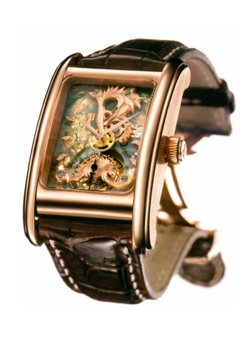 Audemars Piguet Edward Piguet Tourbillon Agate Mousse in Rose Gold