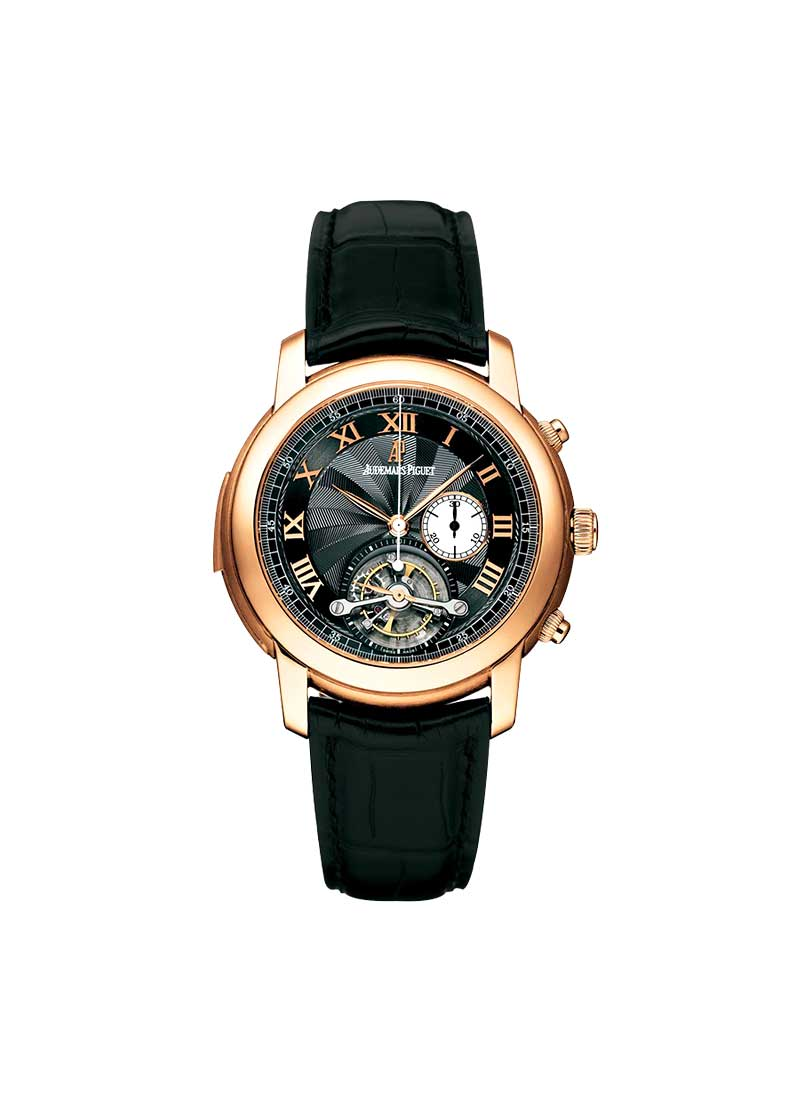 Audemars Piguet Jules Audemars Tourbillon Chronograph in Rose Gold