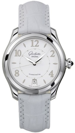 Glashutte Lady Serenade 36mm Automatic in Steel