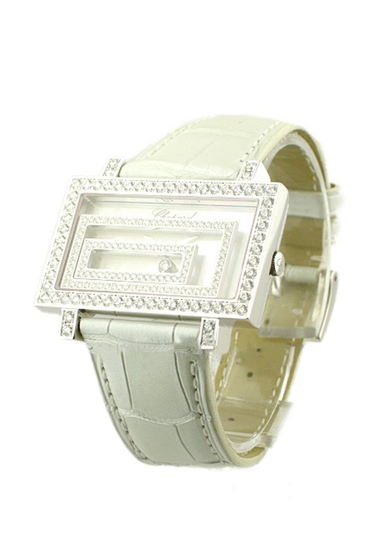 Chopard Happy Spirit in White Gold with Diamond Bezel