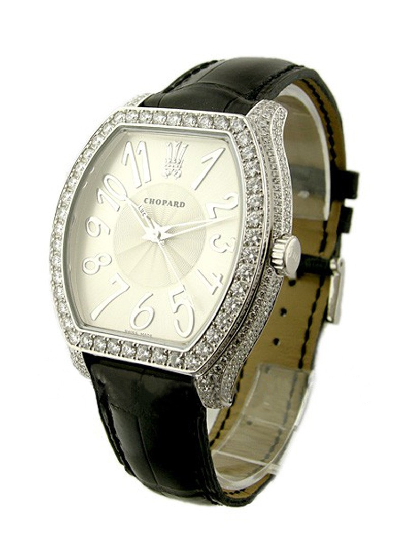 Chopard The Prince's Foundation in White Gold with Pave Diamond Case