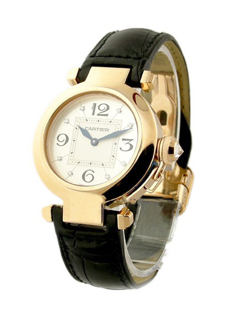 Cartier Pasha 32mm in Rose Gold