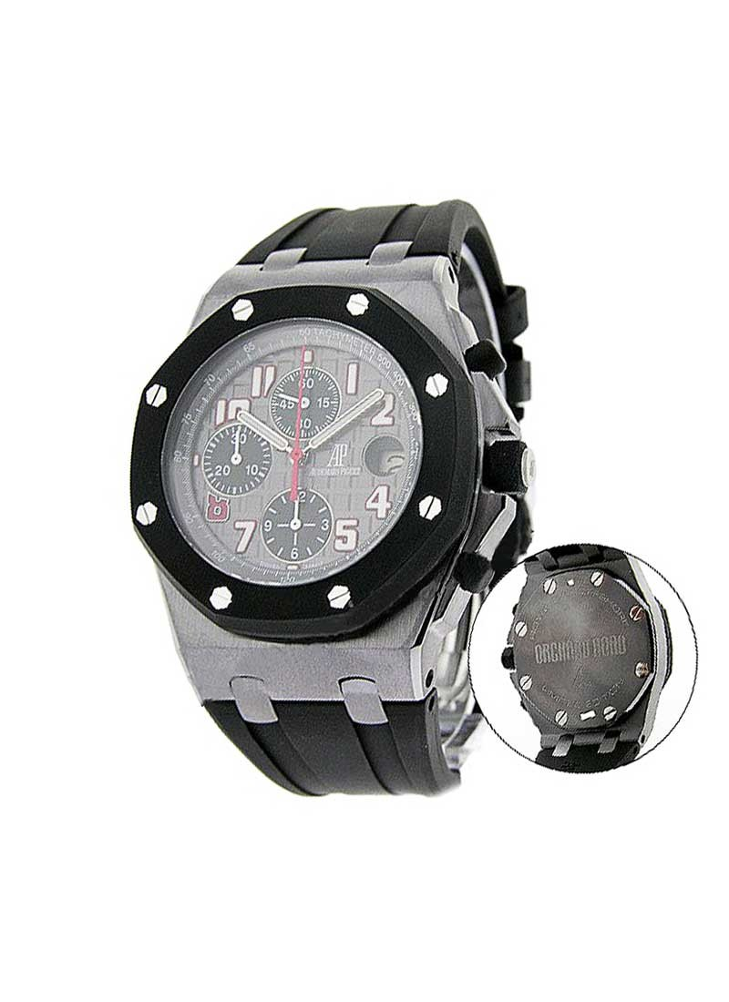 Audemars Piguet Royal Oak Offshore Orchard Road 44mm in Tantalum with Rubber-clad Bezel
