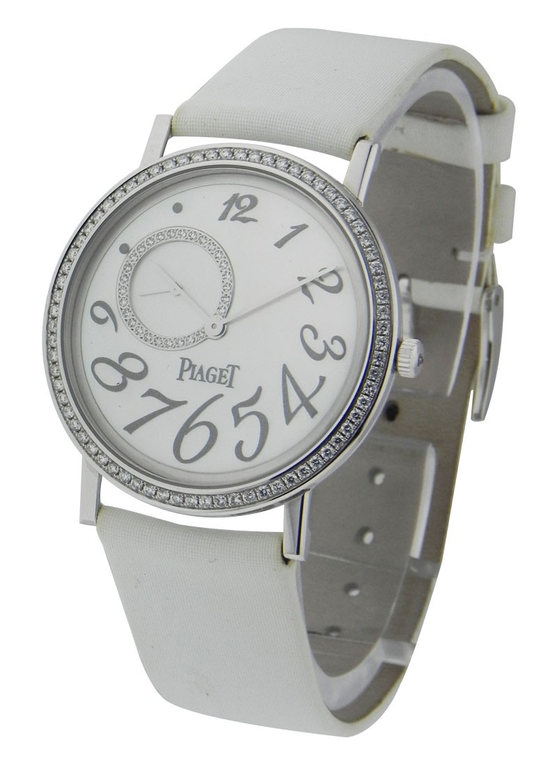 Piaget Altiplano in White Gold with Diamond Bezel