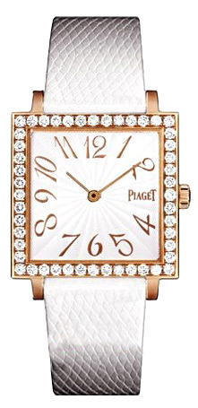 Piaget Altiplano Square - Mid Size in Rose Gold with Diamond Bezel