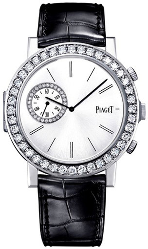Piaget Altiplano Double Jeu in White Gold with Diamond Bezel