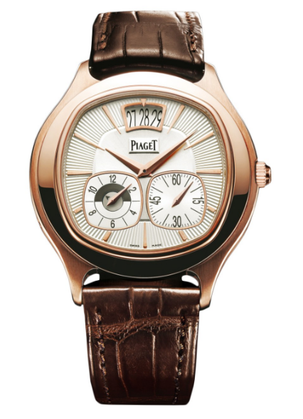 Piaget Black Tie Emperador Cushion in Rose Gold
