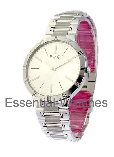 Piaget Men's Dancer in White Gold