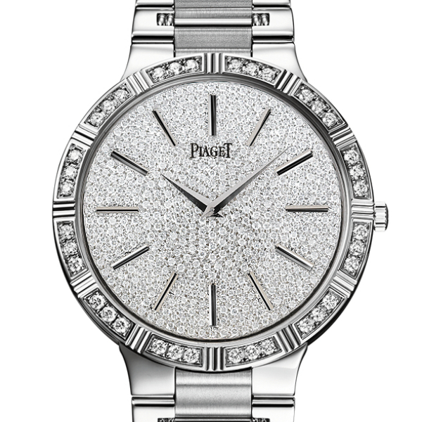 Piaget Dancer in White Gold with Diamond Bezel