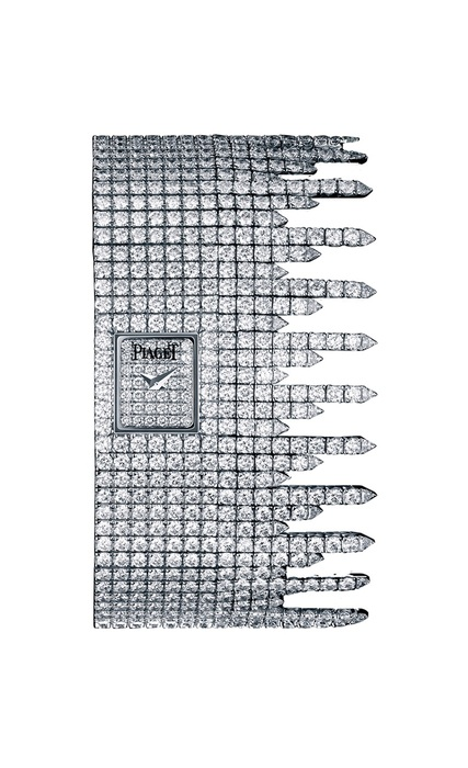 Piaget Limelight Fringe in White Gold with Diamond Bezel