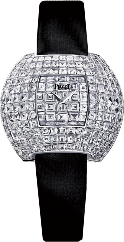 Piaget Limelight Party in White Gold with Baguette Diamond Bezel