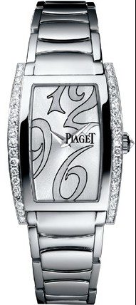 Piaget Limelight Tonneau - Mid Size in White Gold