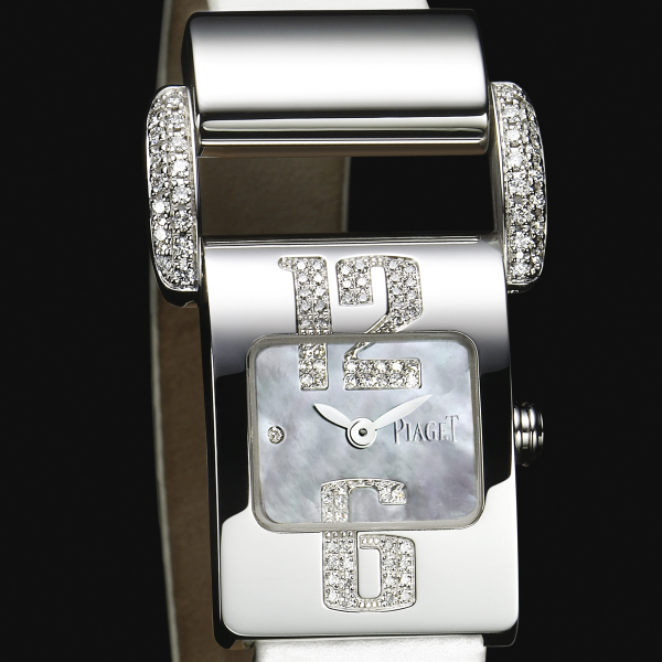 Piaget Miss Protocole   Small Size in White Gold with Diamonds