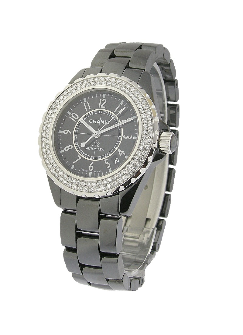 Chanel Full Size J12 with Diamond Bezel - 42mm H2014