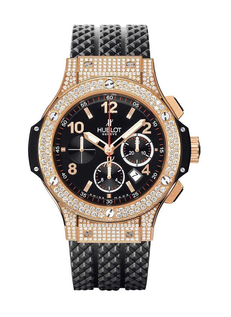 Hublot Big Bang 44mm in Rose Gold with Diamond Bezel