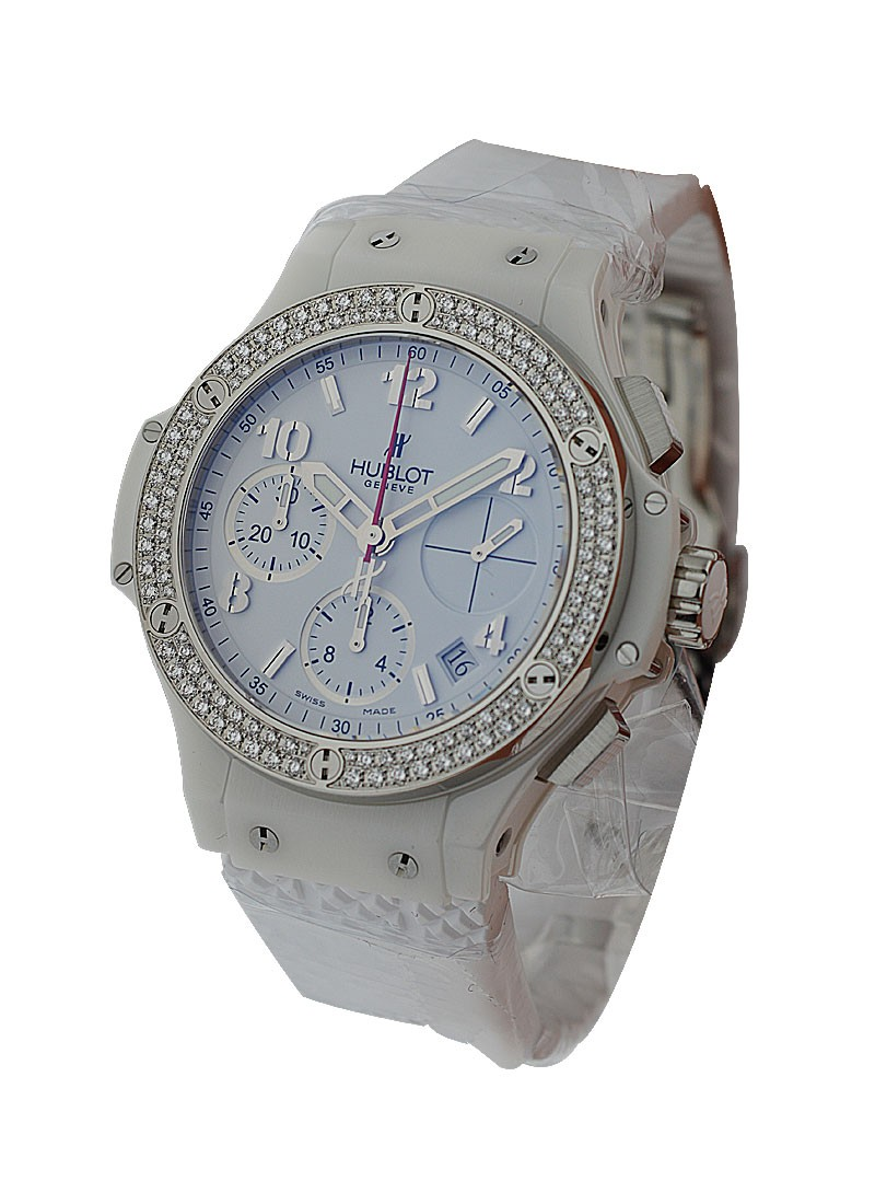 Hublot Big Bang Madre Perla   2 Row Diamond Bezel