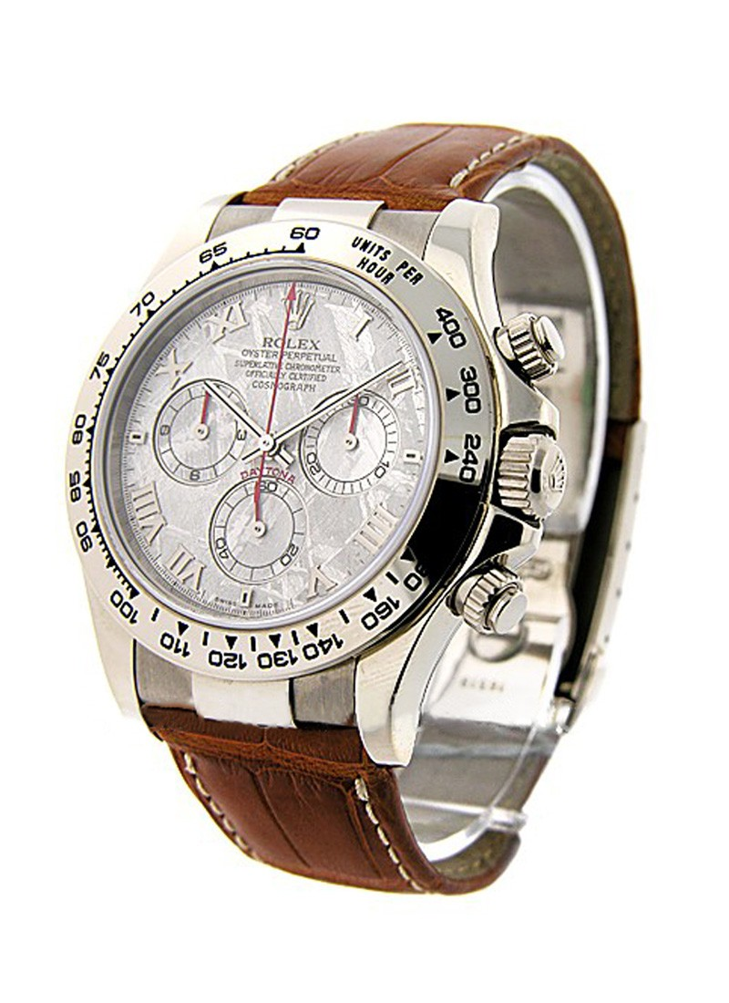 Rolex Unworn Daytona Oyster Perpetual in White Gold