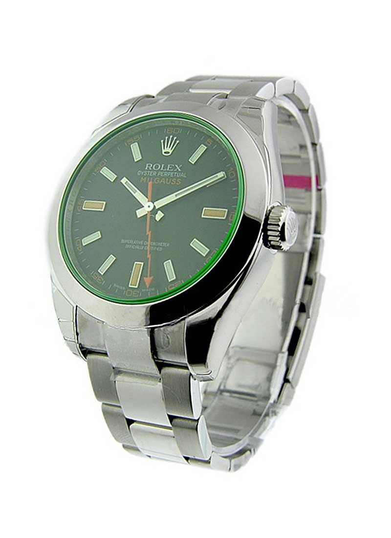 Rolex Unworn Milgauss 40mm in Steel with Smooth Bezel
