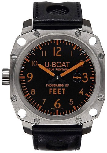 U-Boat Thousands of Feet MS 50mm in Steel