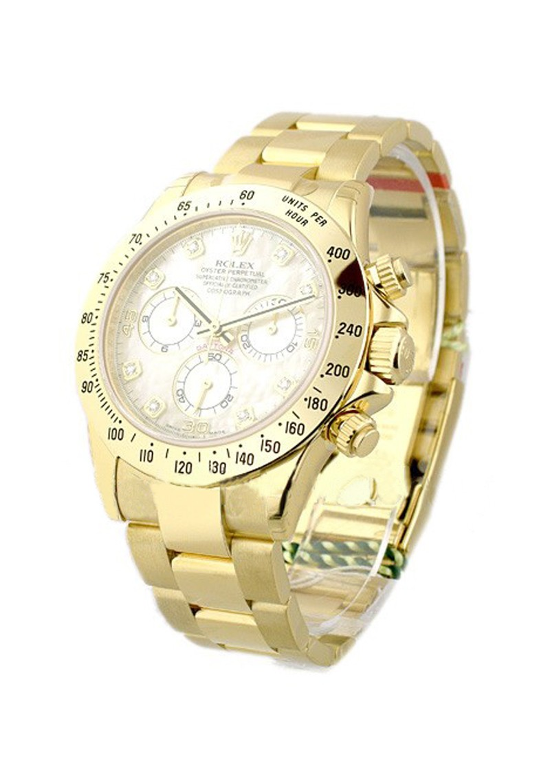 Rolex Unworn Yellow Gold DAYTONA on Bracelet 116528