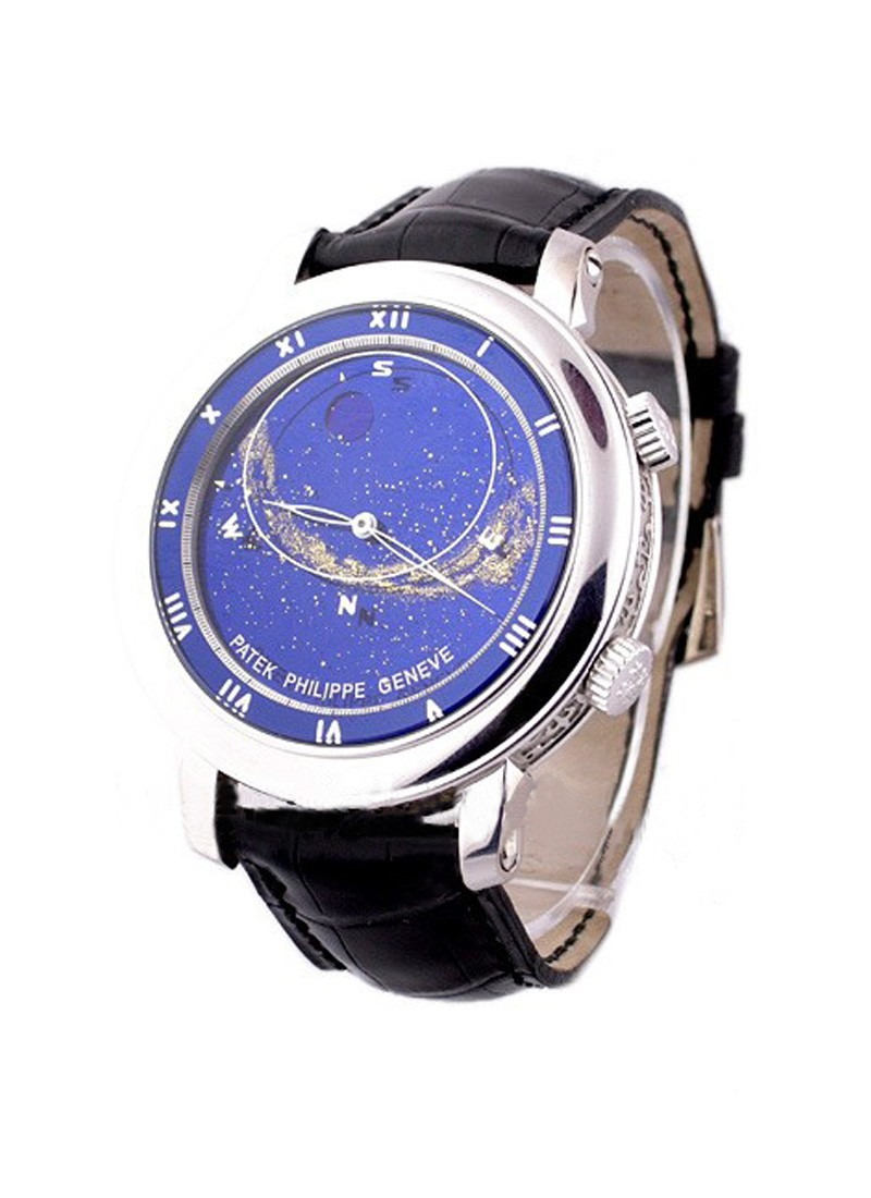 Patek Philippe Celestial with Astronomical Indications 5102G in White Gold